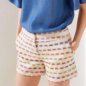 [Loft] White Chino Shorts